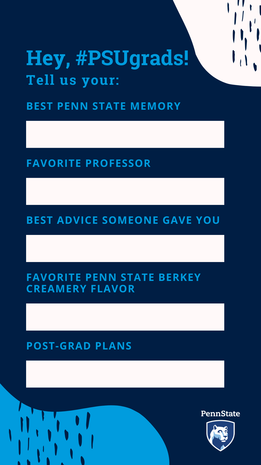 IG Story Template PSUgrad Favorites