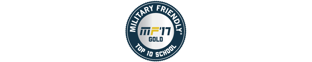 Penn State Mont Alto has earned use of the logo for Military Friendly Top 10 Schools in 2017!