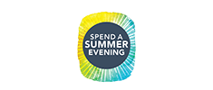 Spend a Summer Evening Graphic