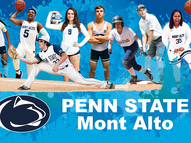 Student athletes at Penn State Mont Alto