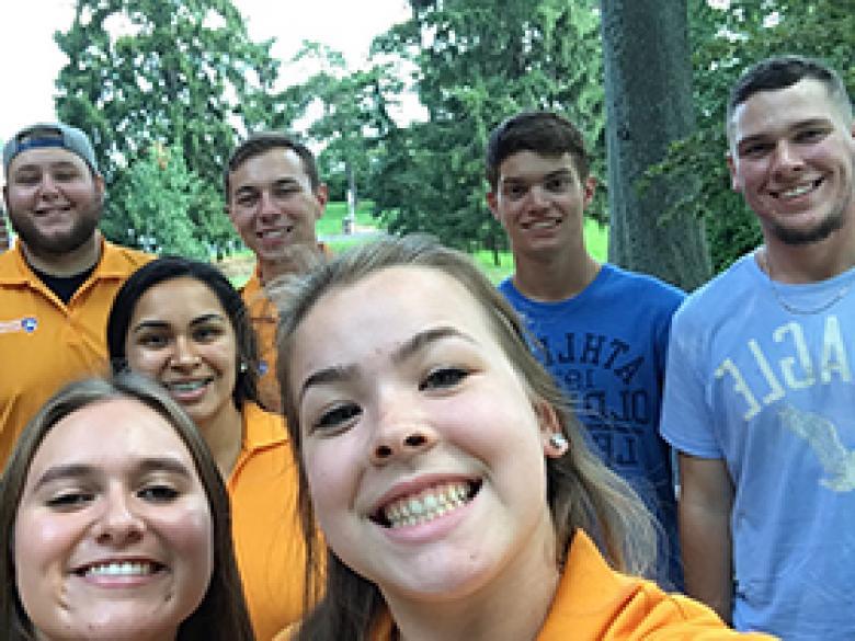 Students selfie!