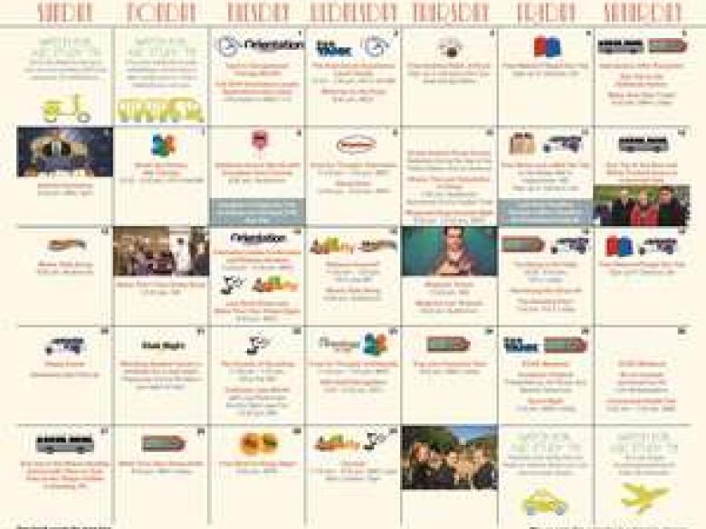 Thumbnail of April Activities Calendar