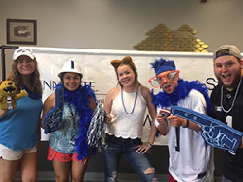 Penn State students get Penn Statey