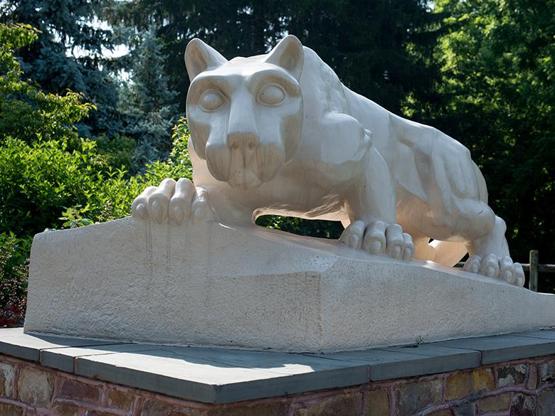 Penn State Mont Alto lion shrine