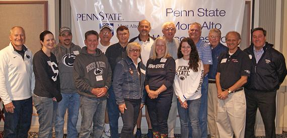 Alumni at the 8th Annual Tailgate