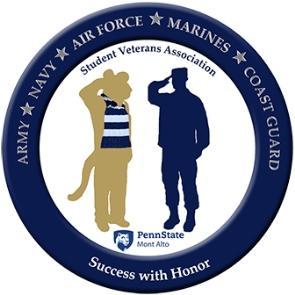 Logo for Penn State Mont Alto Student Veterans' Association