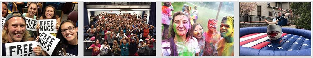 Students enjoy different Welcome Week activitites
